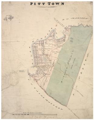 MAP OF PITT TOWN NSW 1826