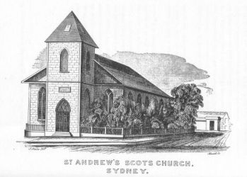 ST ANDREWS SCOTS CHURCH SYDNEY
