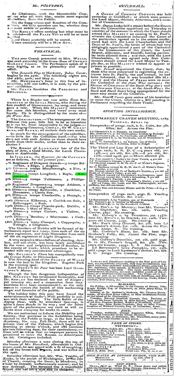 1789 roscommon