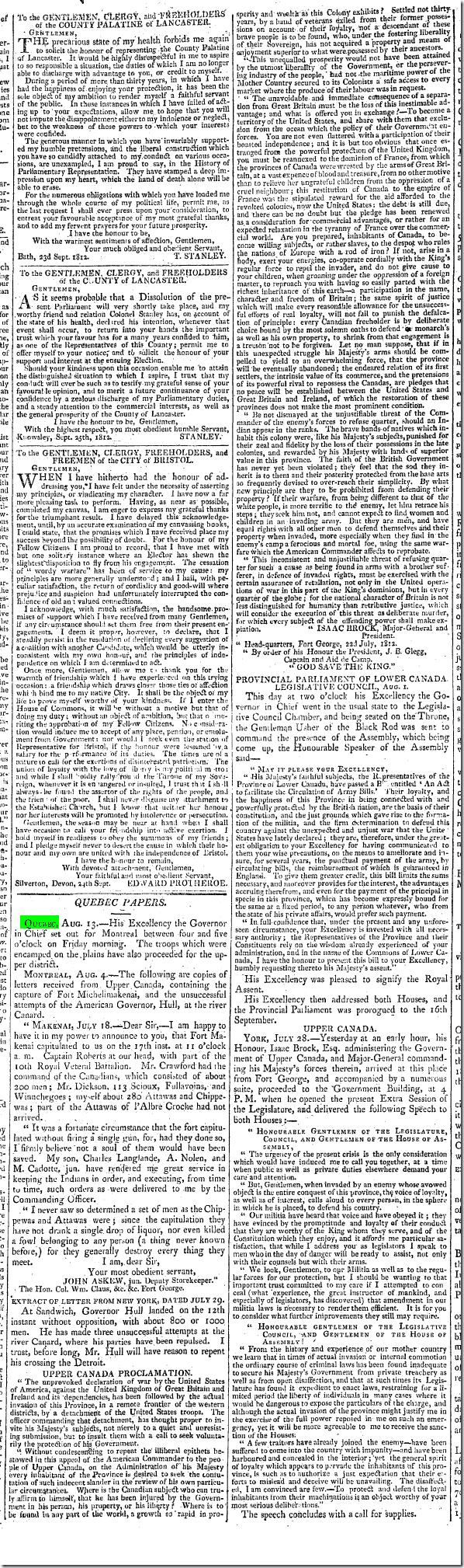 1811 quebec