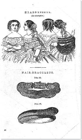 HEADRESSES 1850S