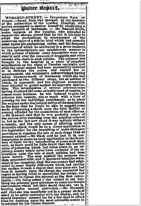 norther star and national trades journal  leeds england saturday 21 october 1848 iss 574 police report2