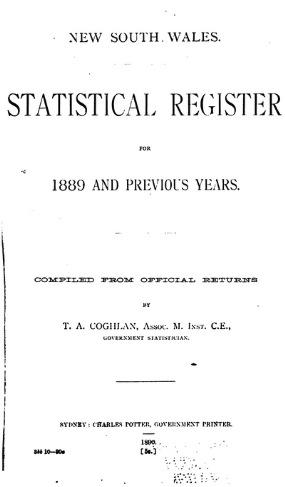 0012STAT BUREAU 1889