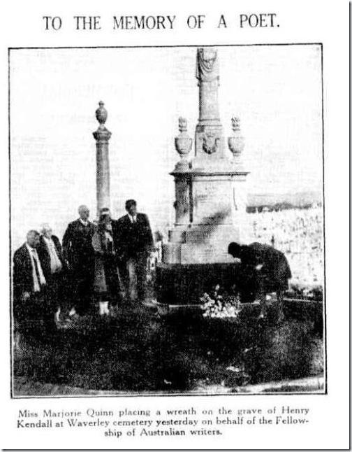 HKGRAVEThe Sydney Morning Herald Thursday 3 September 1931, page 12