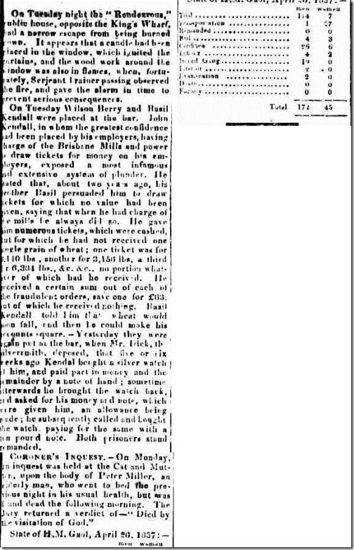BADIL AND BERRY The Sydney Gazette and New South Wales Advertiser (NSW  1803-1842), Thursday 27 April 1837,