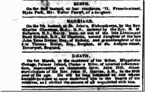 HK MARRIAGE Empire (Sydney, NSW 1850-1875), Tuesday 10 March 1868