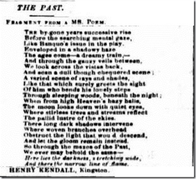 HK POEM MS Empire (Sydney, NSW 1850-1875), Thursday 27 September 1860